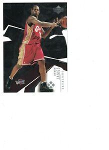 """Lebron James 2003-04 UPPER DECK BLACK DIAMOND ROOKIE GEMS JUMBO CARD """"PROMO"""""""