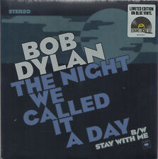 "BOB DYLAN The Night We Called It A Day | 7"" Blue Vinyl Single Neuware sealed RSD"