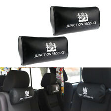 2x JUNCTION PRODUCE VIP Car Neck Pillow Headrest Neck Rest Support Cushion