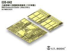 ET Model 1/35 #E35042 Soviet JS-3 Stalin Detail Up Set for Tamiya 35211