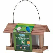 Pennington Classic Cedar Natures Friend Wild Bird Feeder, 3 lb. Seed Capacity