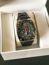Seiko Sportura Kinetic Chronograph Black/Orange 7L22 OAE0