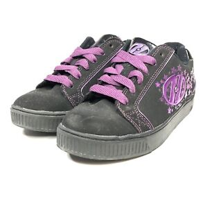 Heely's Comet Style 7887 Black & Purple Youth Size 3