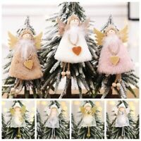 2019 Christmas Plush Doll Angel Hanging Ornaments Pendants Wedding Home Decor~