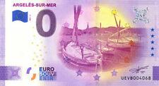 66 ARGELES-SUR-MER Barques catalanes, 2021, Anniversaire, Billet Euro Souvenir