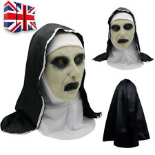 The Conjuring 2 SCARY NUN MASK Latex Fancy Dress Prank Horror Halloween Party UK
