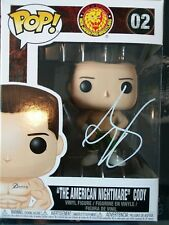 Cody Rhodes ALL IN Autographed Pops figure WWE WWF NXT ROH