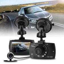 "2.7"" HD 1080P Dual Lens Car DVR Rearview Camera Dash Cam Video Recorder G-Sensor"