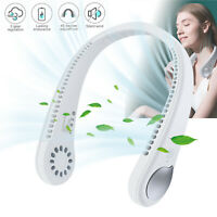 2 In 1 Mini Portable USB Air Cooler Electric Air Conditioner Cooling Neck Fan US
