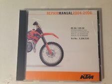 KTM SX 85/105 Shop Manual