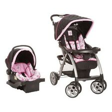 DISNEY SAUNTER TRAVEL SYSTEM Pram Stroller Car Seat Base Infant Baby Toddler NEW