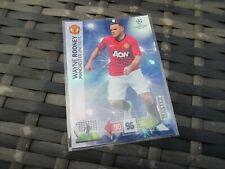 Adrenalyn XL Champions League 2012-2013 2012/13 338 Wayne Rooney Master Card