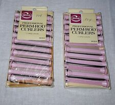 GOODY PROFESSIONAL PERM ROD CURLERS LARGE PINK 2 PACKS SEALED