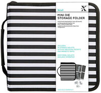 Papermania case with 10 storage wallets. Store your Xcut mini dies die cutters