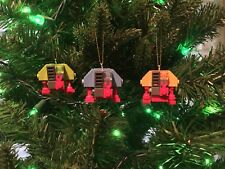 Custom LEGO ROBOT Ornaments! DEWEY HUEY LOUIE! SILENT RUNNING! FREE SHIPPING!