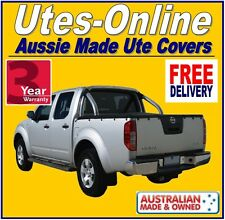 Nissan Navara STX / ST D40 Dual Cab Ute Tonneau Cover to fit Factory Sports Bars