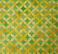 Sun-Kissed BTY Studio 8 Quilting Treasures Geometric Yellow Green