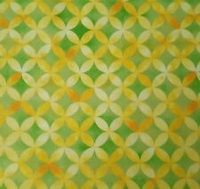 Sun-Kissed BTY Studio 8 Quilting Treasures Geometric Yellow Green