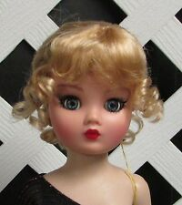 """Doll Wig Size 8/9 Monique Synthetic Mohair """"Clarissa"""" in Golden Stwbry - SALE!"""