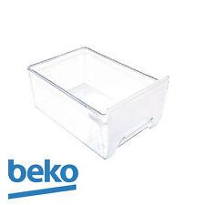 NEW Beko Fridge Freezer Vegetable Drawer/Crisper. Genuine part number 4207680100
