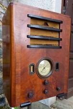 Belle radio sans marque des années 1934+-