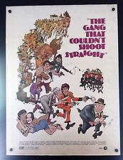 Original 1971 THE GANG THAT COULDN'T SHOOT STRAIGHT 30 x 40 Theatre Movie Poster