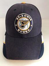 Authentic Vintage St Louis Blues NHL Face Off Headwear Reebok Hat Cap