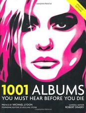 1001 Albums You Must Hear Before You Die,Robert Dimery- 9781844036240