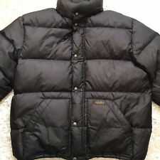 Polo by Ralph Lauren Black Feather Down Puffer Ski Jacket Parka Mens Size XL