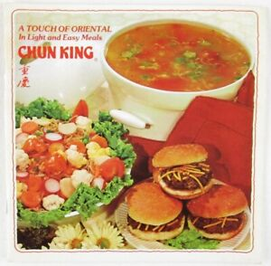 Vintage Chun King A Touch of Oriental in Light and Easy Meals Booklet, 1978