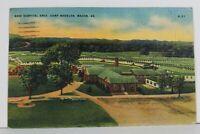 Macon Georgia Base Hospital Near Camp Wheeler 1943 to Brockton Pa Postcard N13