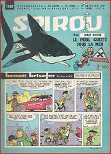 ▬► Spirou Hebdo N° 1190 du 2 Février 1961 Complet avec Mini-Livre Mini-Orchestre