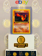 Charmander 50/82 1st Edition Nm Near Mint Team Rocket Non-Holo Pokemon Card