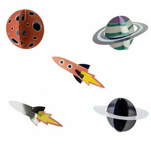 Space Theme Kids Party Hanging Decorations