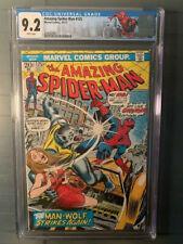 Amazing Spider-Man #125 NM CGC 9.2! 2nd Appearance & Origin Man-Wolf!