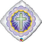 BATTESIMO & COMUNIONE QUALATEX Latex & LAMINA RELIGIOSA Palloncini a elio / ARIA