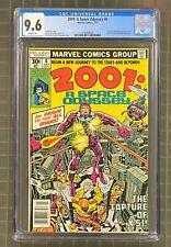 2001 A SPACE ODYSSEY #8 Marvel 1977 CGC 9.6 Machine Man Origin & 1st Appearance
