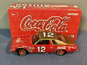 NASCAR Diecast Car 1:24 Bobby Allison #12 Coca Cola 1974 Chevrolet Malibu Action