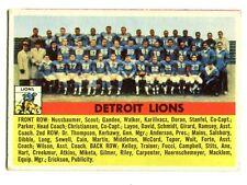 1956 Topps #92 Detroit Lions Team Photo Very Good