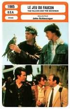 FICHE CINEMA : LE JEU DU FAUCON - Hutton,Penn 1985 The Falcon and the Snowman