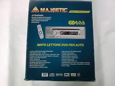DVD191 RDS AUTORADIO MAJESTIC STEREO CON LETTORE DVD