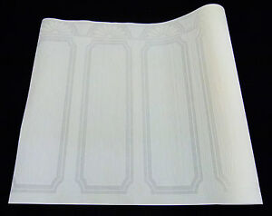 5008-16) 1 Rolle Vliestapete Sockeltapete Sockelborte 10m x 1,06m weiss weiß