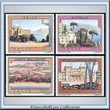 1980 Italia Repubblica Propagan. Turistica 1497/1500 **