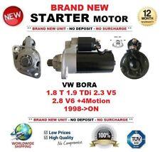 FOR VW BORA 1.8 T 1.9 TDi 2.3 V5 2.8 V6 +4Motion 1998->ON STARTER MOTOR 11 Teeth