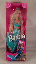 1991 Mattel Mermaid Barbie-Hair Changes to Rainbow Colors! NRFB