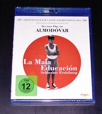 la mala educación Malos Erziehung Blu-Ray Más Rápido Envío NUEVO Y EMB. orig.