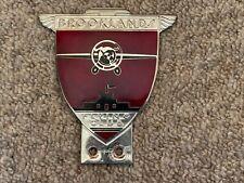 Brooklands Flying Club car badge