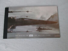 Royal Mail The Making of Star Wars the British Story 2015 Prestige Stamp Book