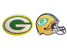 New 2 Green Bay Packers NFL embroidered iron on patches. (i159,i163)