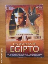 DVD LOS MISTERIOS DE EGIPTO VOL. 1 (4 DVD) (R7)